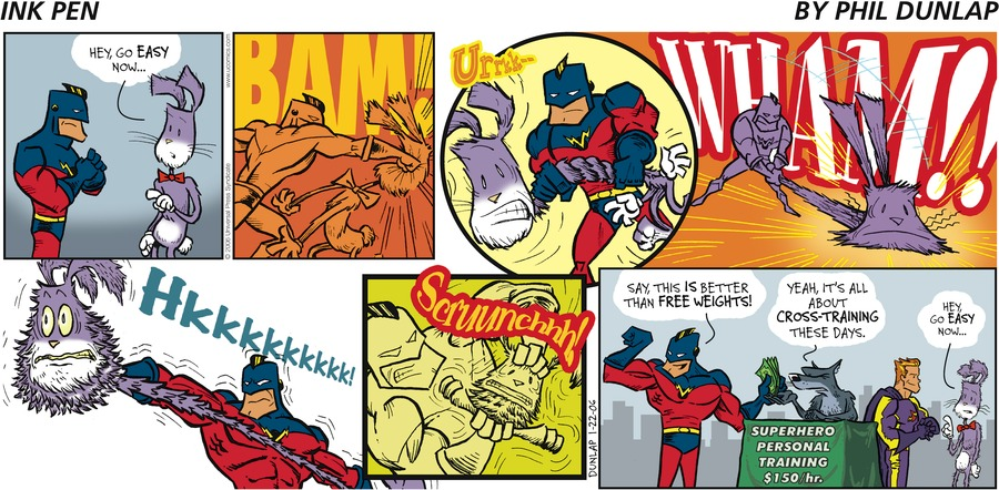 Ink Pen Comic Strip for January 22, 2006