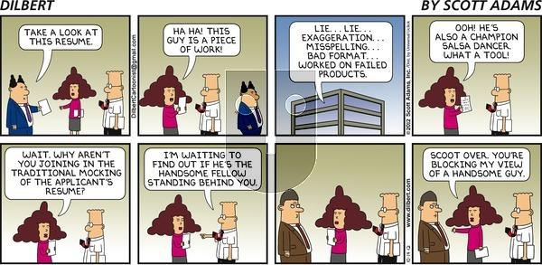 Dilbert on Sunday October 14, 2012 Comic Strip