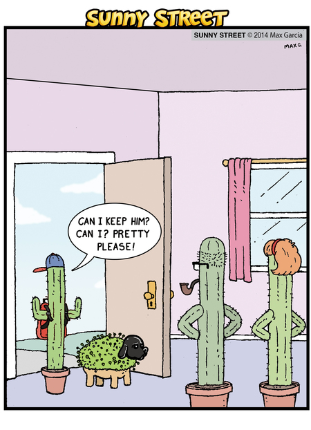 Sunny Street Comic Strip for March 31, 2014