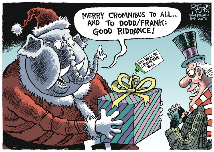 Rob Rogers Comic Strip for December 14, 2014