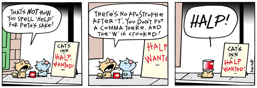 Ten Cats for May 20, 2013 Comic Strip
