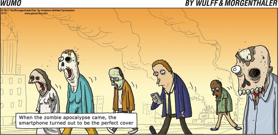 WuMo for Sep 10, 2017 Comic Strip