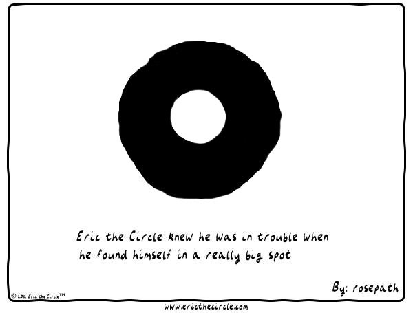 Eric the Circle for Oct 2, 2013 Comic Strip