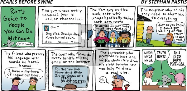 Pearls Before Swine - Sunday September 25, 2016 Comic Strip