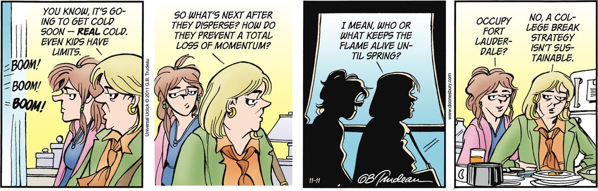 Doonesbury for Nov 11, 2011 Comic Strip