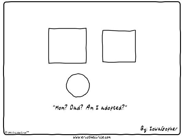 Eric the Circle for Oct 11, 2013 Comic Strip