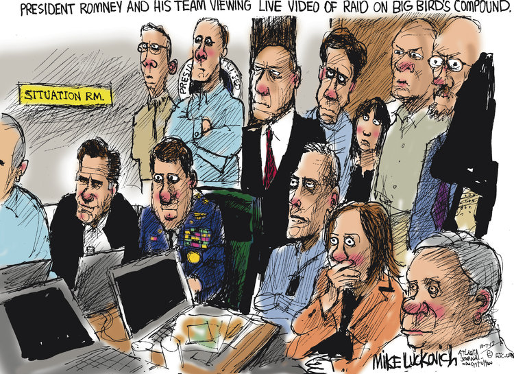 Mike Luckovich for Oct 7, 2012 Comic Strip