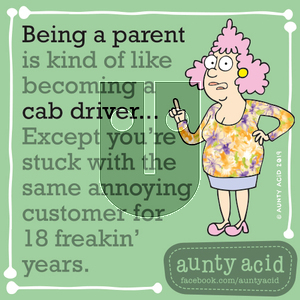 Aunty Acid on Thursday September 19, 2019 Comic Strip
