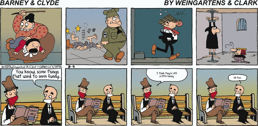 Barney & Clyde Comic Strip for August 09, 2020