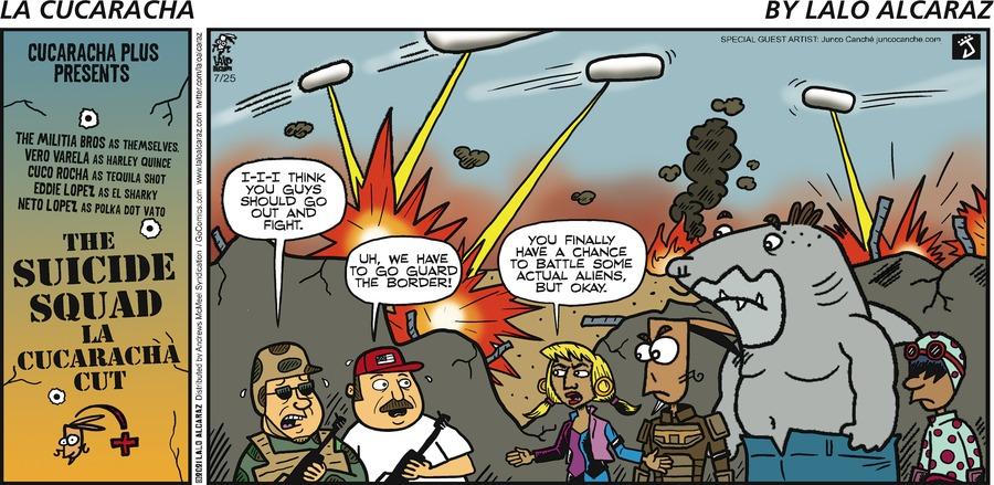 La Cucaracha Comic Strip for July 25, 2021