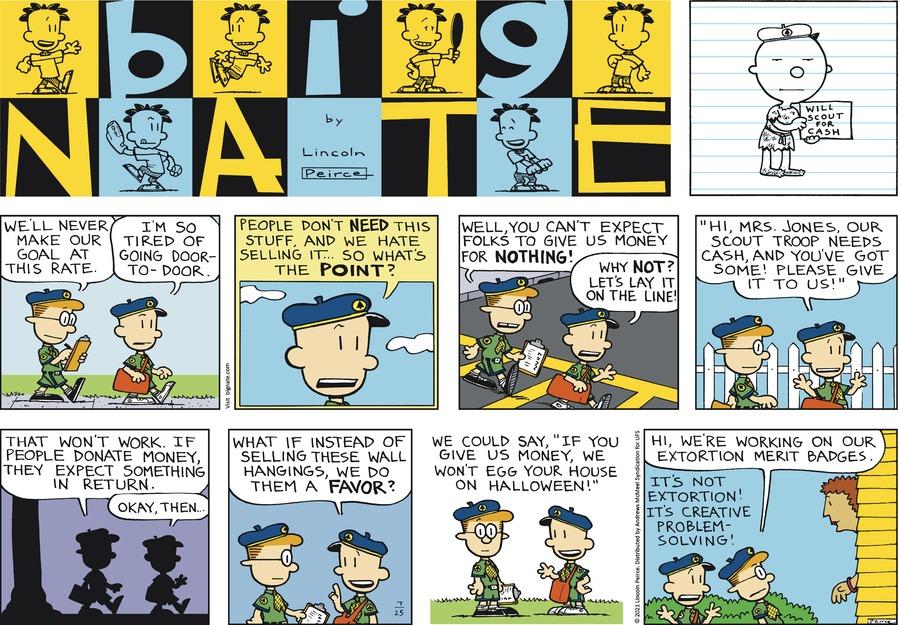 Big Nate Comic Strip for July 25, 2021
