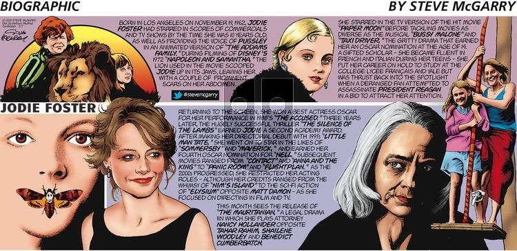 Biographic on Sunday February 7, 2021 Comic Strip