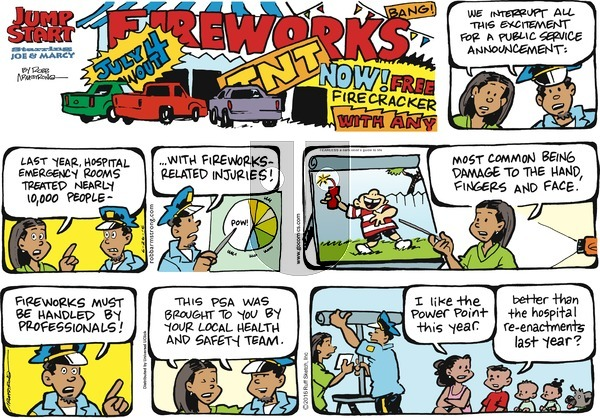 JumpStart on Sunday June 26, 2016 Comic Strip