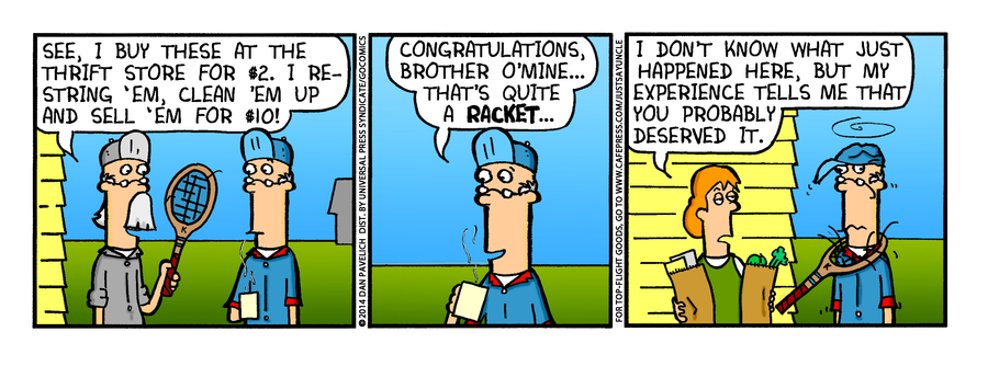Just Say Uncle for Jul 23, 2014 Comic Strip
