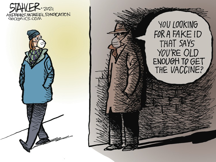 Jeff Stahler Comic Strip for January 24, 2021