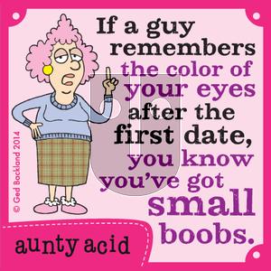 Aunty Acid on Tuesday May 13, 2014 Comic Strip