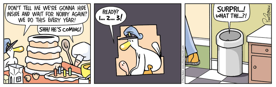 Ollie and Quentin for Jun 12, 2014 Comic Strip