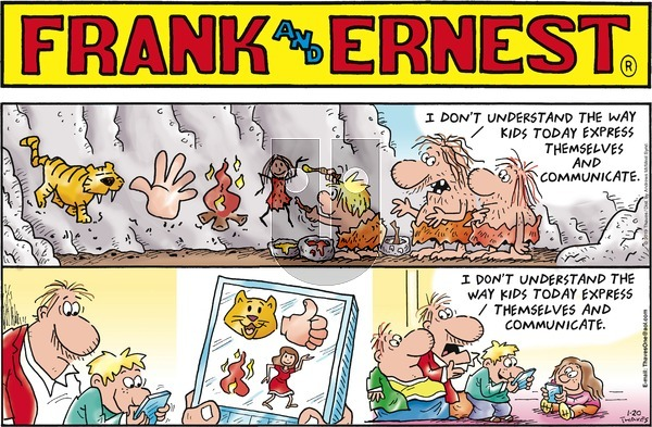 Frank and Ernest - Sunday January 20, 2019 Comic Strip