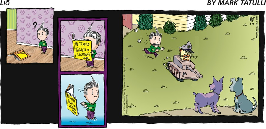 Lio Comic Strip for May 23, 2021