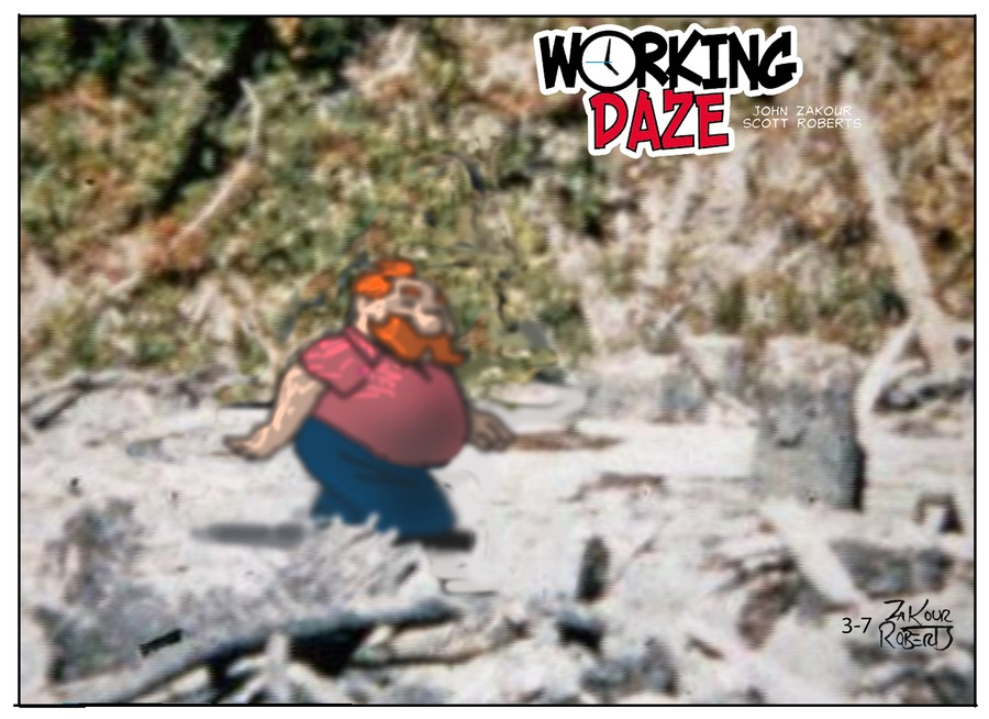 Working Daze Comic Strip for March 07, 2021