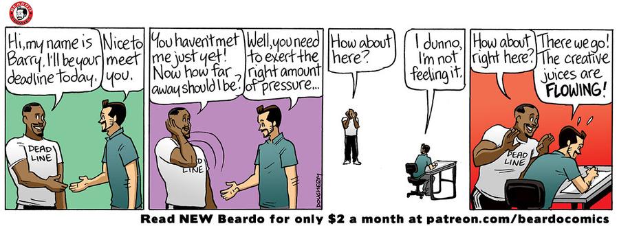 Beardo Comic Strip for June 12, 2021