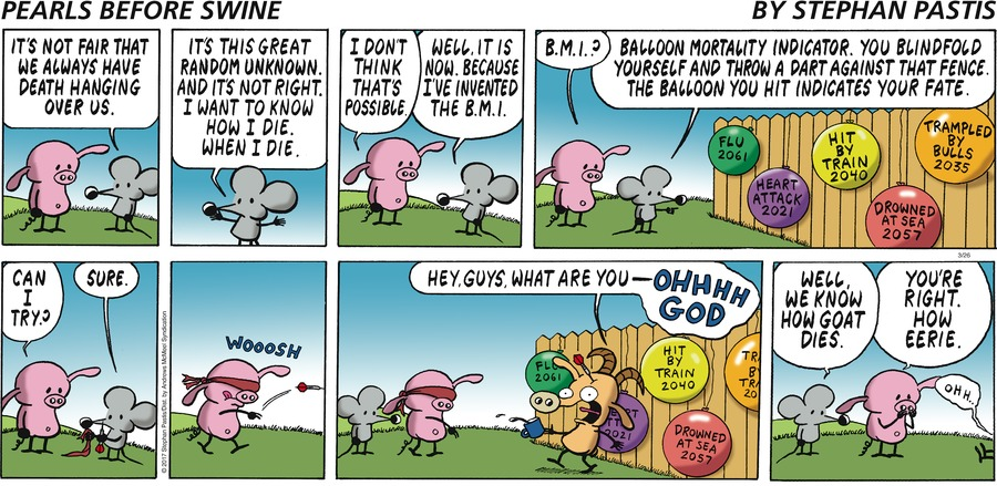 Pearls Before Swine Comic Strip for March 26, 2017