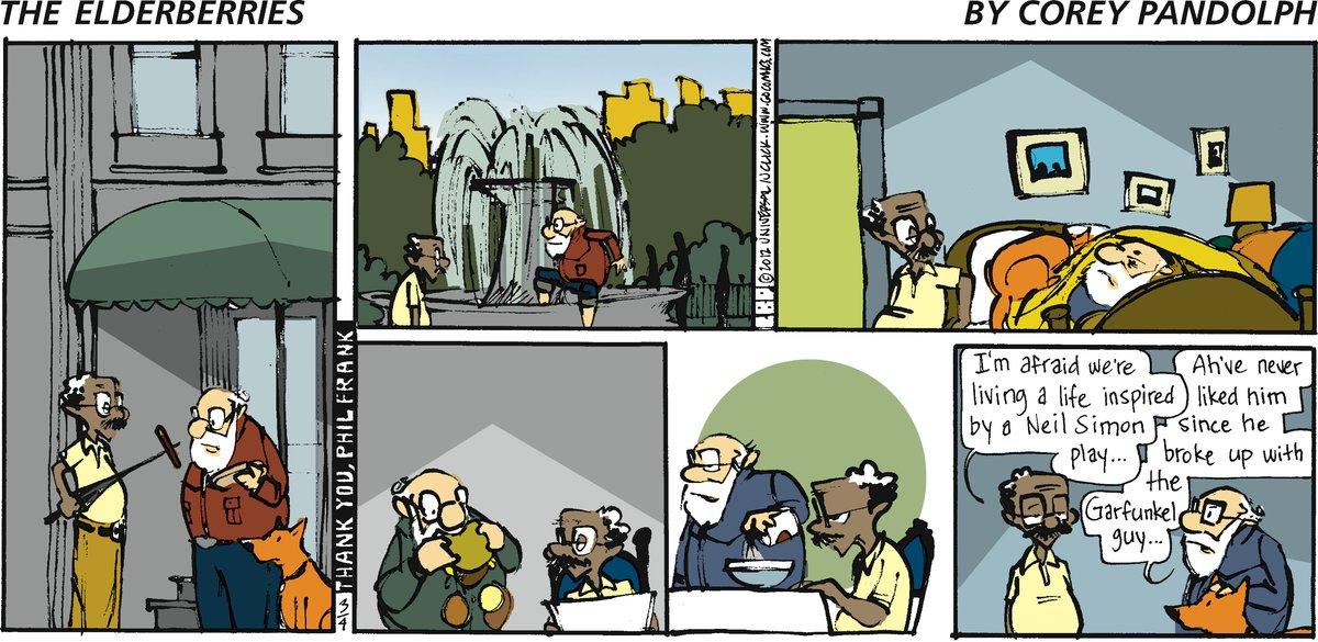 The Elderberries for Mar 4, 2012 Comic Strip