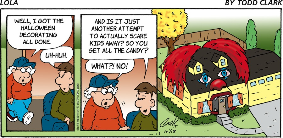 Lola Comic Strip for October 18, 2020