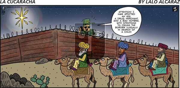 La Cucaracha on Sunday January 5, 2020 Comic Strip