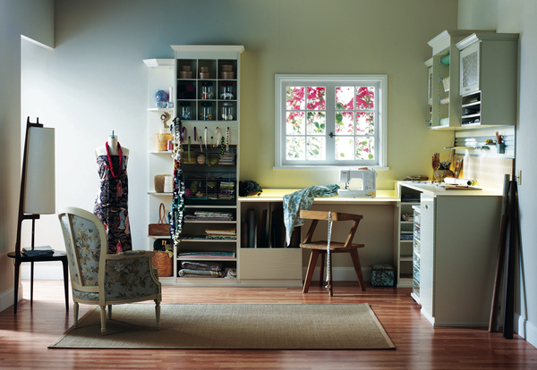 With planning and organizing, a person can become an artist-in-residence. Stop canvassing your home for art supplies and spend more time channeling your inner artist by organizing the craft room.