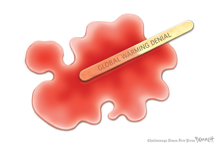 Clay Bennett Comic Strip for August 14, 2019