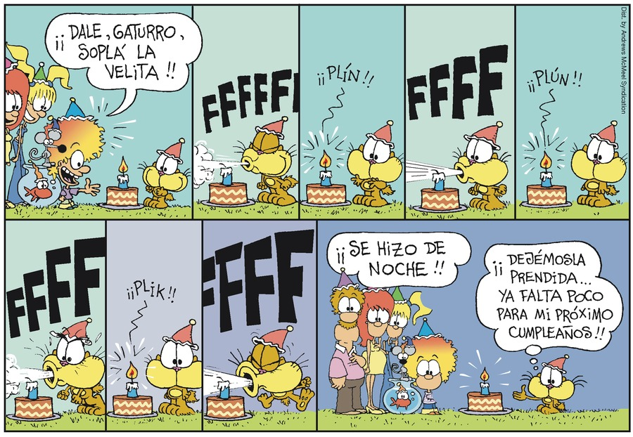 Gaturro Comic Strip for February 17, 2019