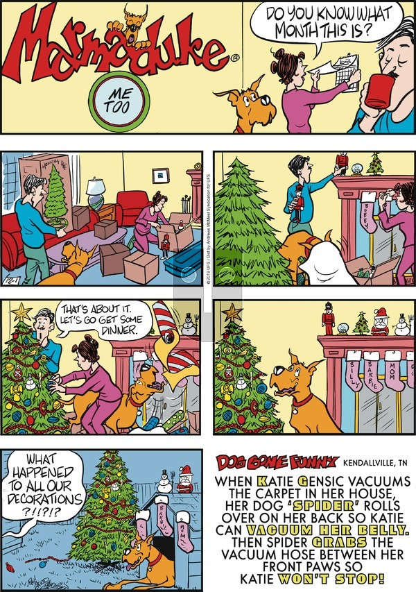 Marmaduke on Sunday December 1, 2019 Comic Strip