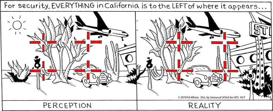 Unstrange Phenomena Comic Strip for October 07, 2019