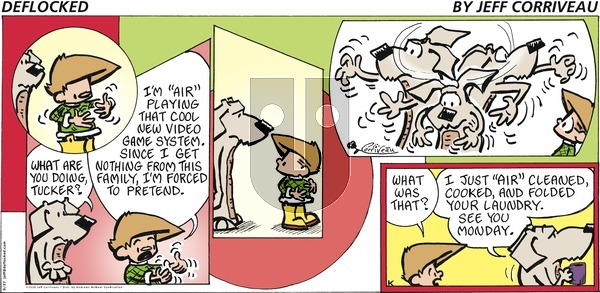 DeFlocked on Sunday September 27, 2020 Comic Strip