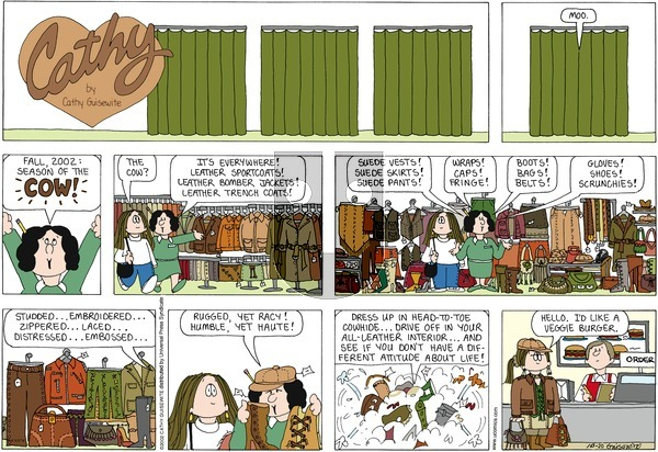 Cathy on Sunday October 20, 2013 Comic Strip
