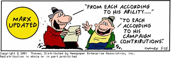 Frank and Ernest Comic Strip for May 25, 2001