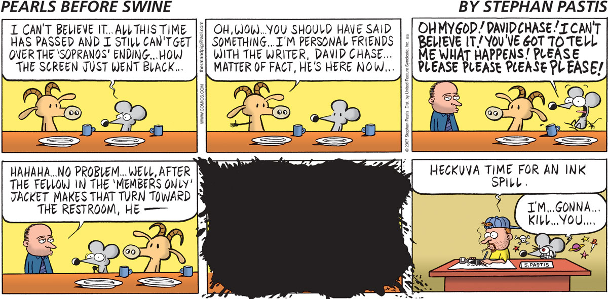 Pearls Before Swine Comic Strip for August 05, 2007