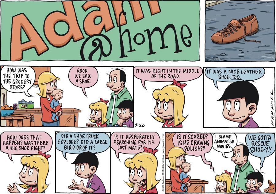 Adam@Home Comic Strip for September 20, 2020
