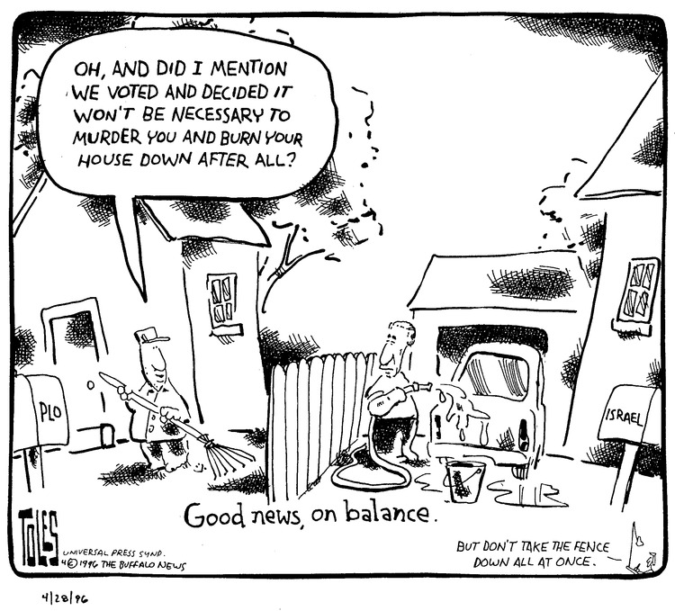 Tom Toles Comic Strip for April 28, 1996