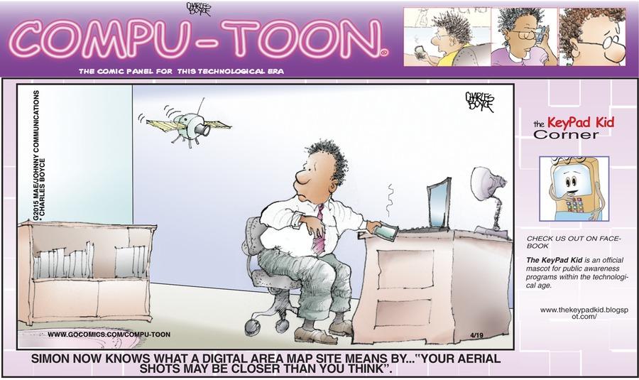 Compu-toon Comic Strip for April 19, 2015