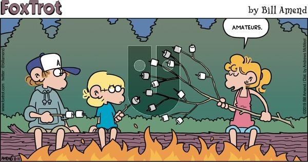 FoxTrot on Sunday August 11, 2019 Comic Strip
