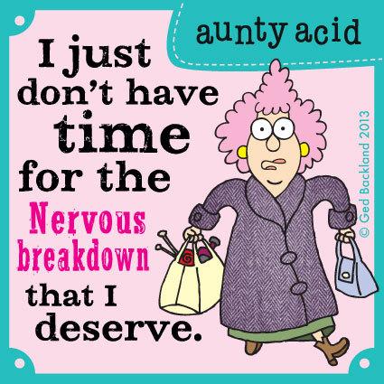 Aunty Acid for Oct 15, 2013 Comic Strip