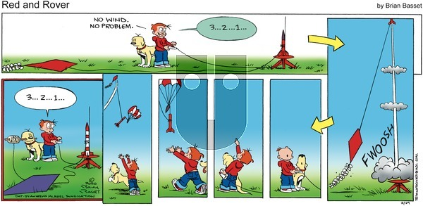 Red and Rover - Sunday March 29, 2020 Comic Strip
