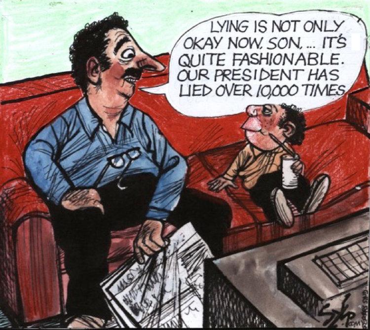 Paul Szep Comic Strip for August 13, 2019