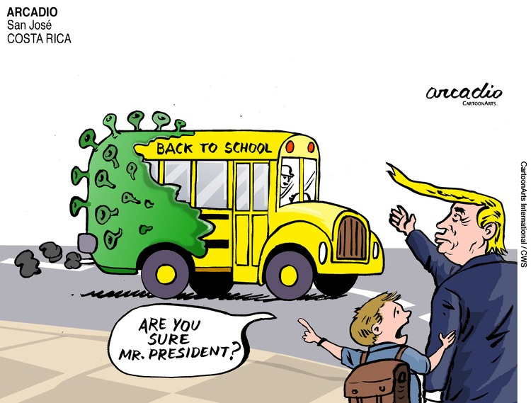 ViewsBusiness Comic Strip for July 19, 2020