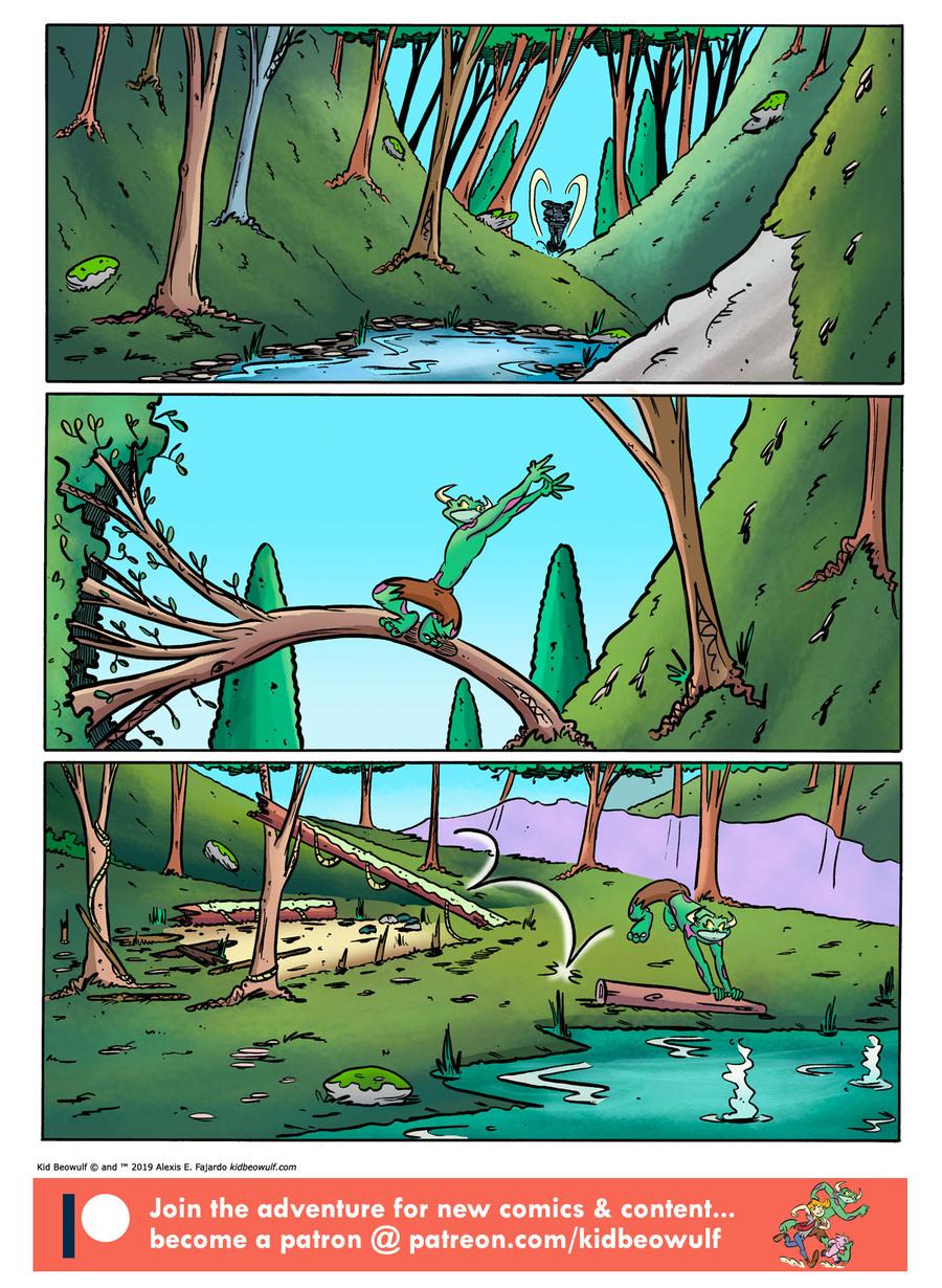 Kid Beowulf Comic Strip for November 13, 2019