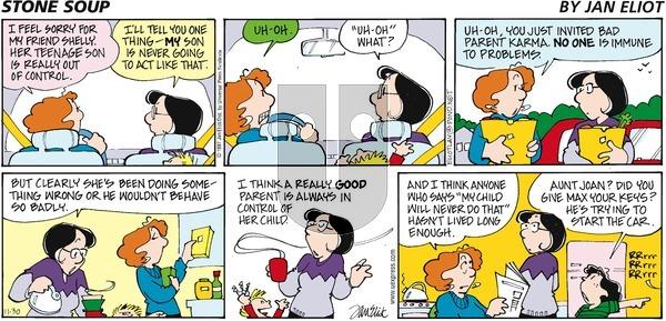Stone Soup on Sunday November 30, 1997 Comic Strip