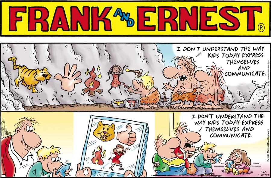 Frank and Ernest Comic Strip for January 20, 2019