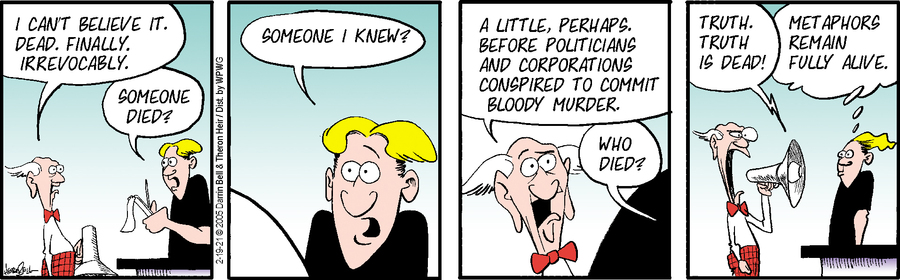 Rudy Park Comic Strip for February 19, 2021